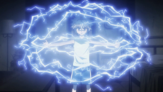 Killua is my man