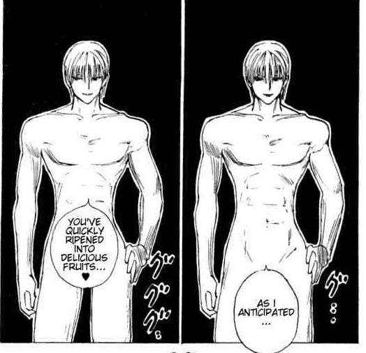 The manga scene, for good measure. Good, good measure.